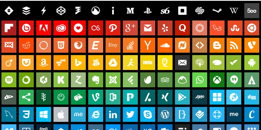 Flatoid Icons