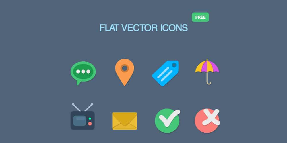 free-flat-icons-psd