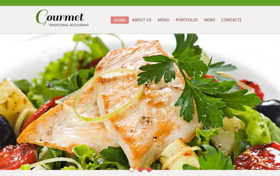 Gourmet2 Html5 Theme