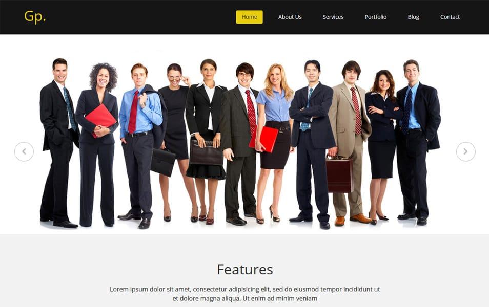 Gp.Free MultiPurpose HTML Bootstrap Template