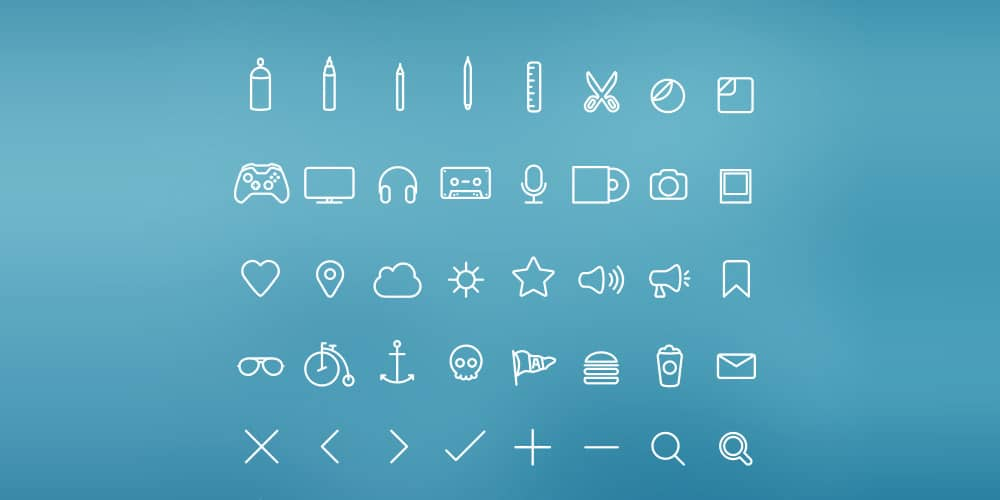 hangloose-icon-set-psd