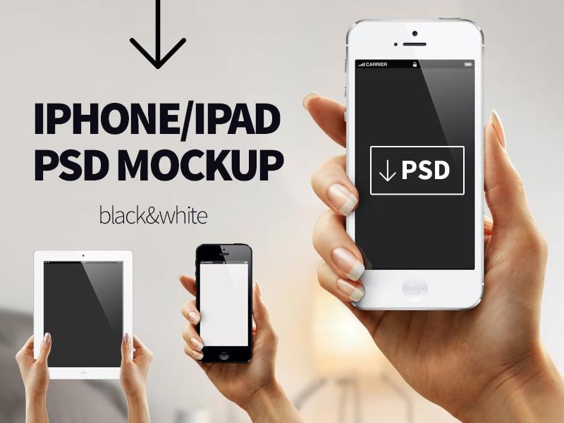 Iphone Ipad PSD Mockup