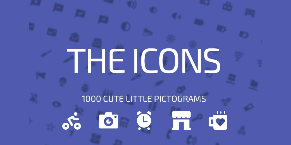 The Icons PSD