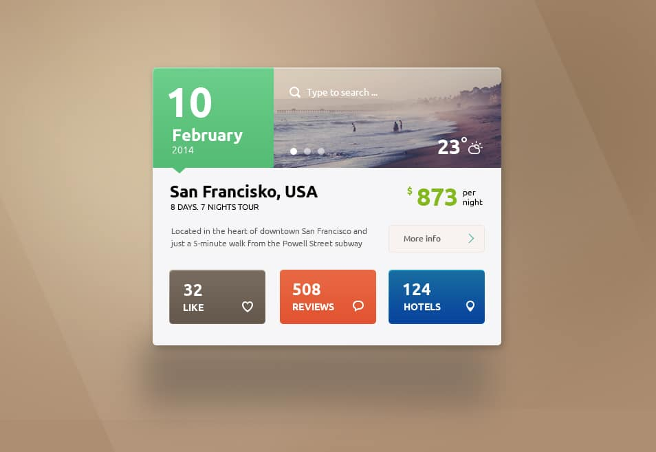 Travel Free PSD