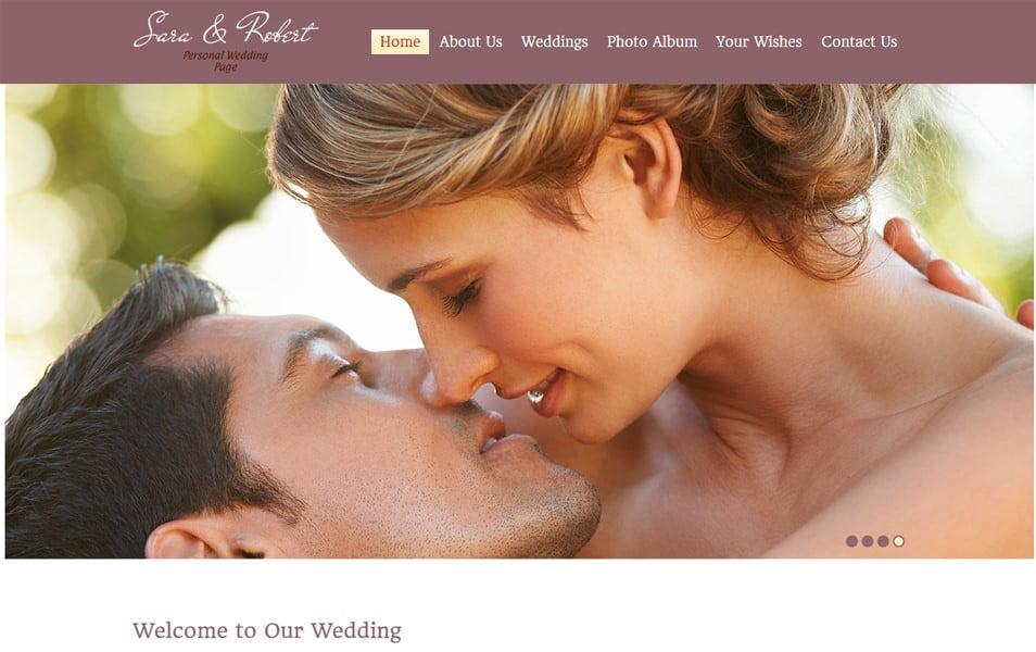WeddingSite Html5 Theme