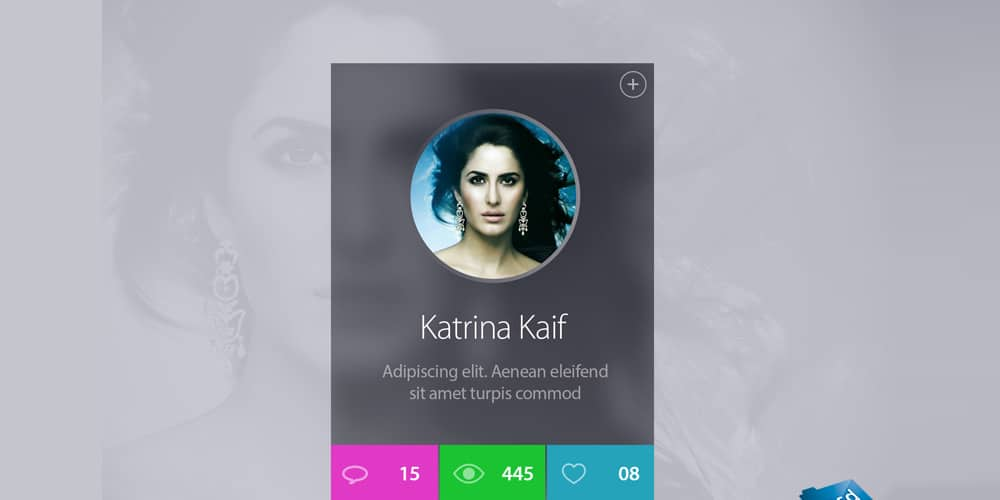Celebrity Profile Widget
