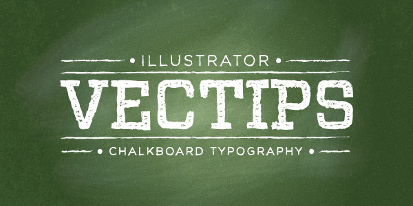 Develop a Chalkboard Vector