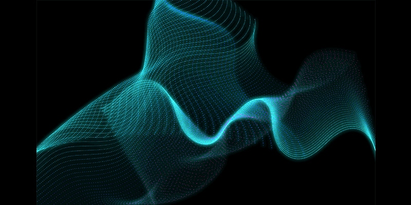 Digital Particle Waves