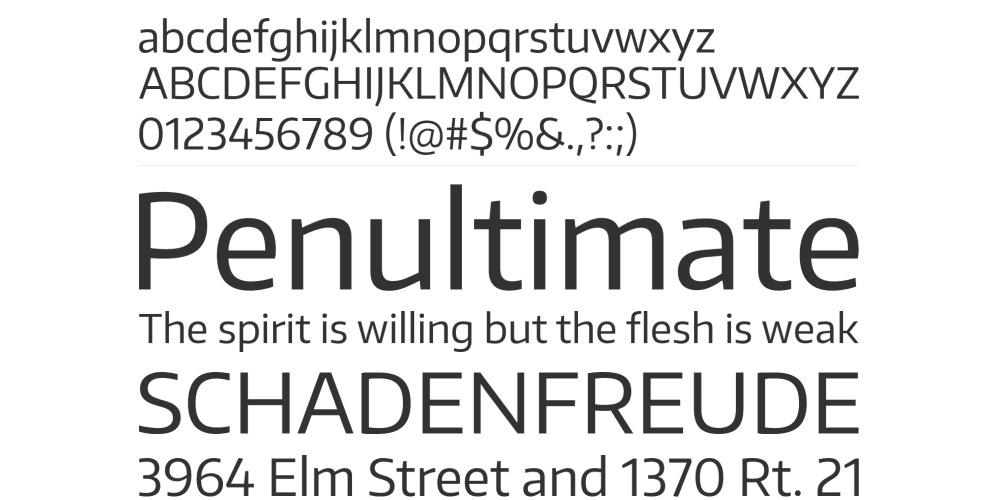 Encode Sans Free Web Font