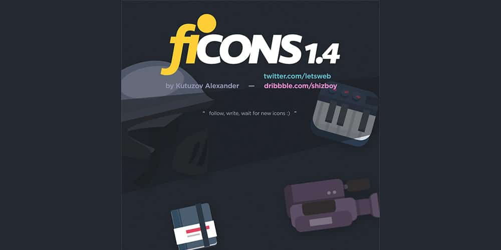 Ficons Icons