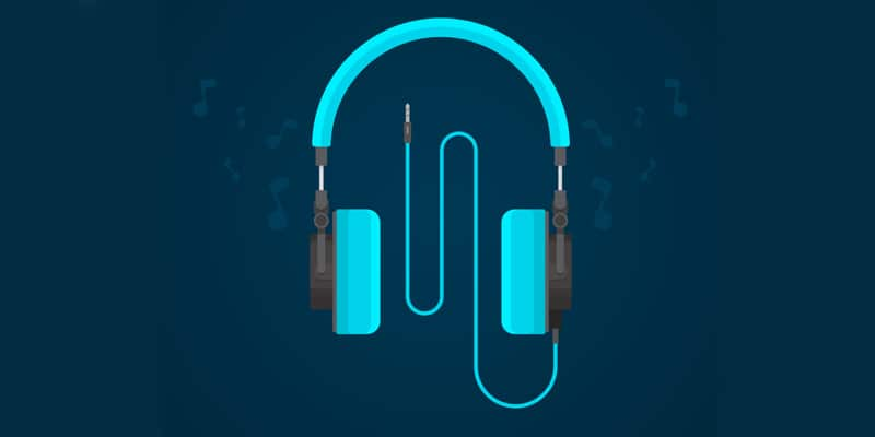 Flat Design Headphones
