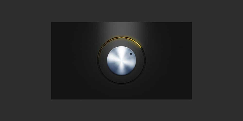 free-psd-metal-knob-with-yellow-led-lights