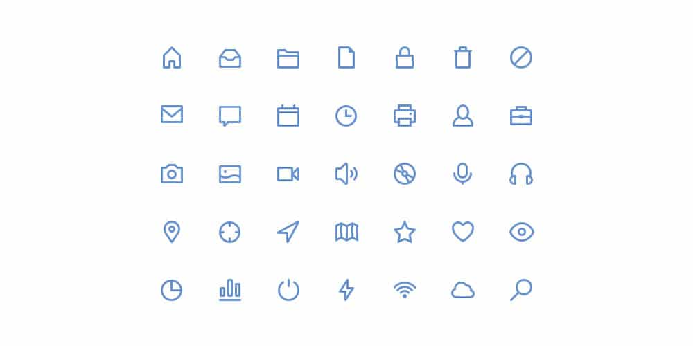 Free Stroke Icons