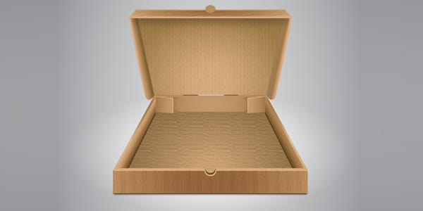 How to Create an Opened Cardboard Box