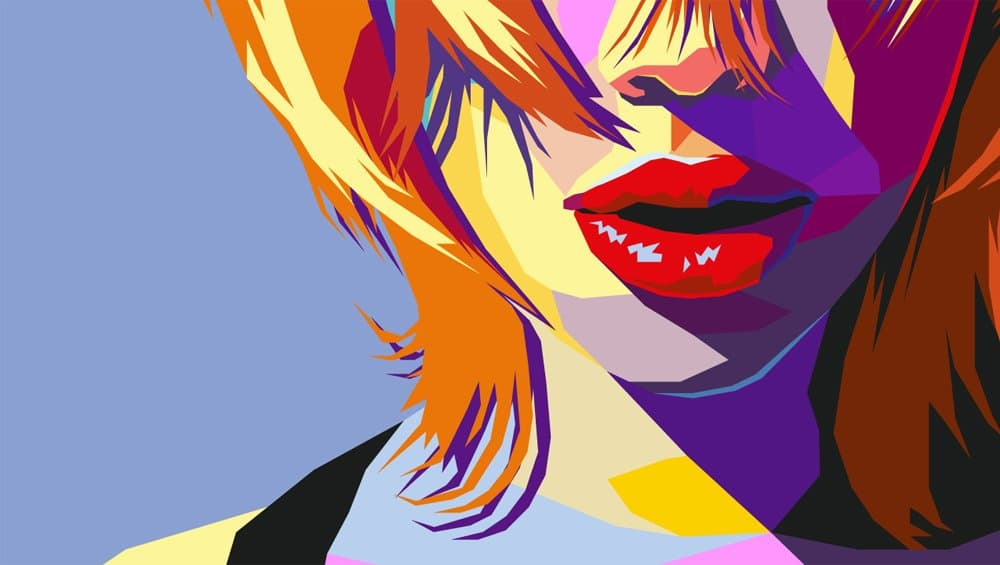 Pop Art Portrait in Illustrator
