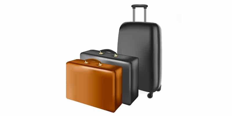 Set of Vector Suitcases