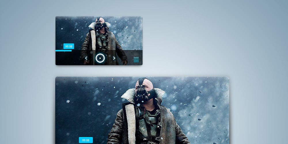 Simple Media Player PSD