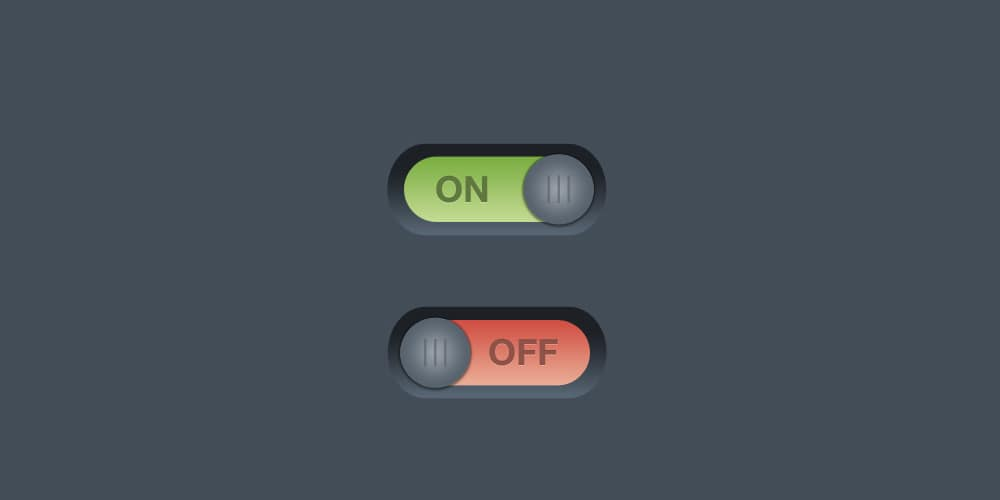 Simple On or Off Switches