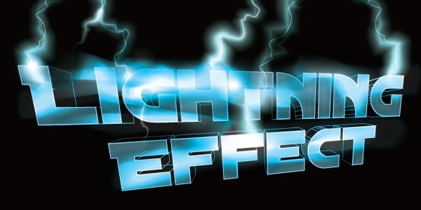 Simple Tips to Make a Lightning Text Effect in Illustrator