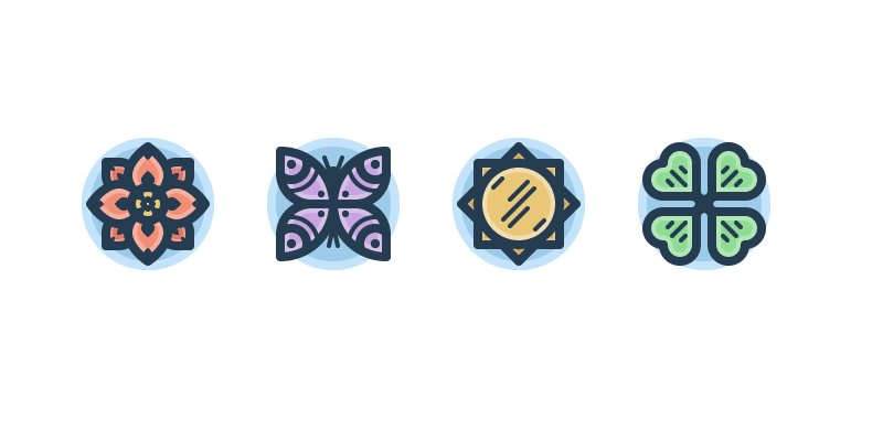 Spring Themed Icon Pack
