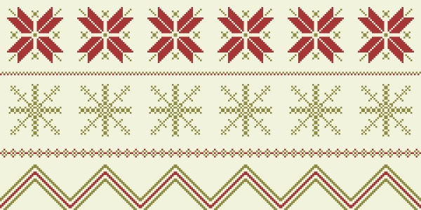 The Best Way to Make a Winter time Fair Isle Pattern in Adobe Illustrator