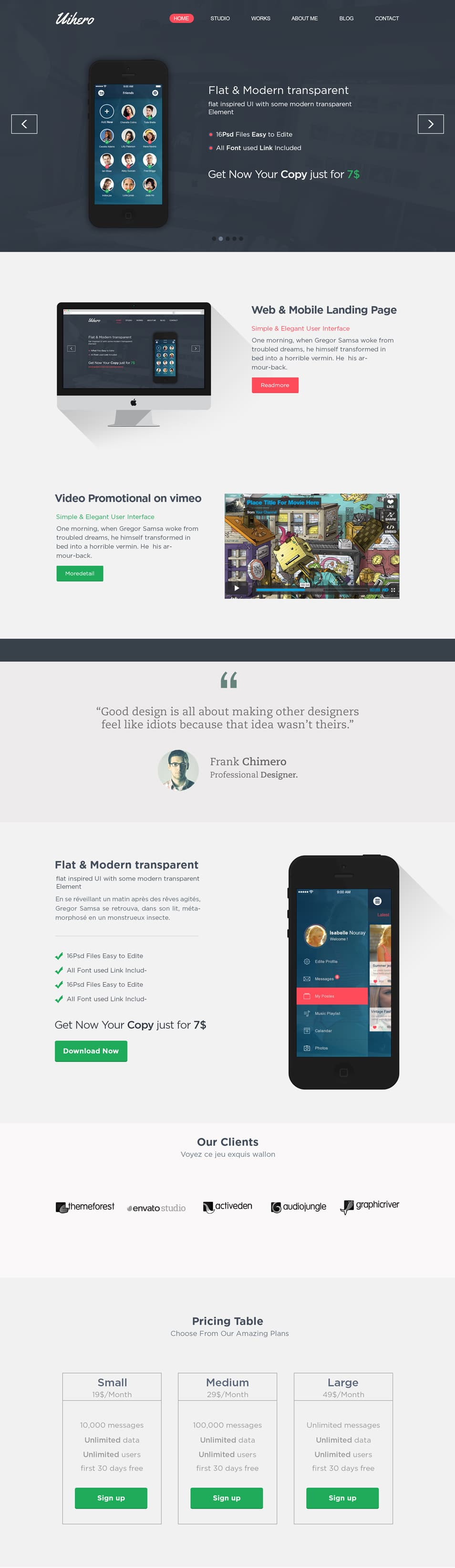 Uihero-–-Free-PSD-website-template