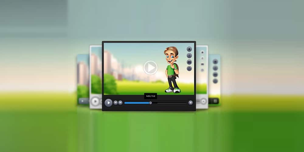 video-player-psd-set