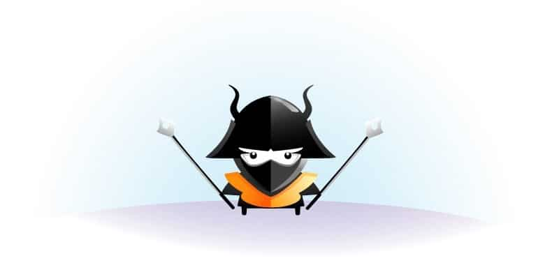 angry little samurai