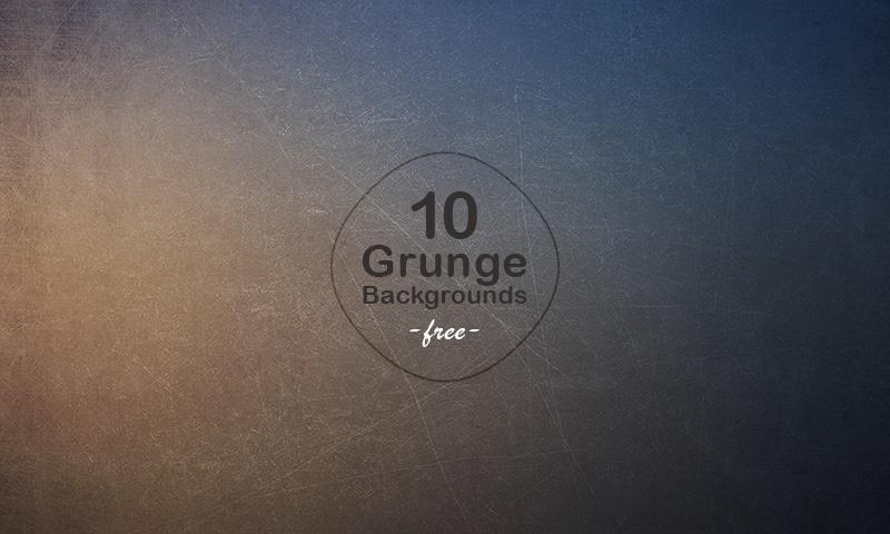 10 Grunge Blurred Backgrounds