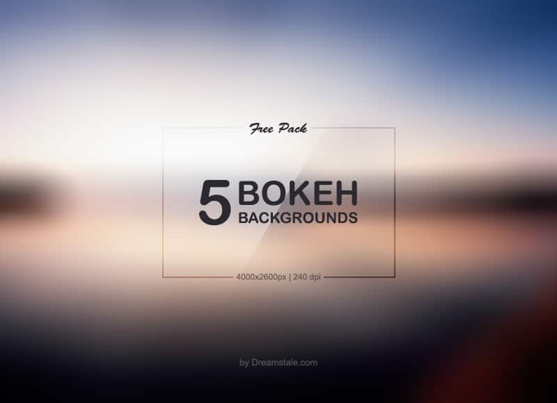 5 HD Free Bokeh Backgrounds