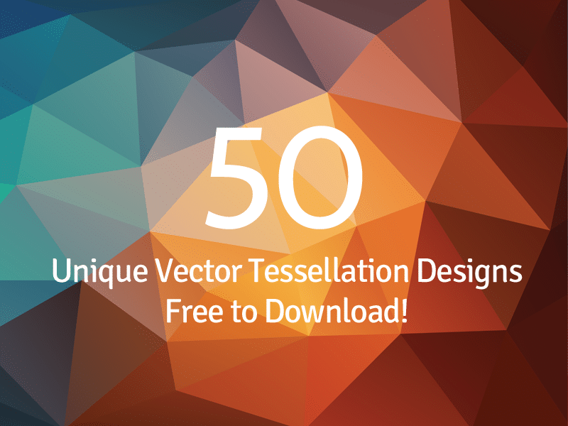 50 Free Tessellated Designs Background