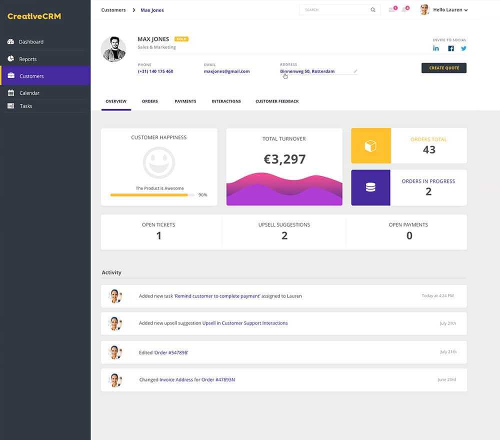 Css Admin Panel Template Free Download 18 Free Backend