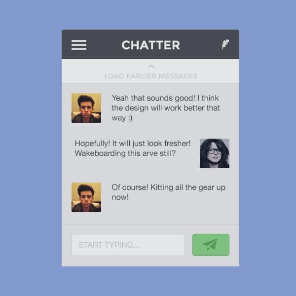 Chatter-Widget