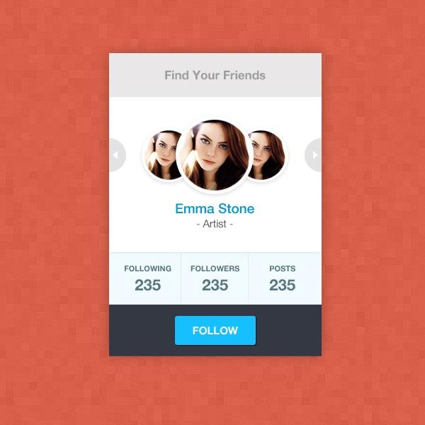 Find-your-friends-widget