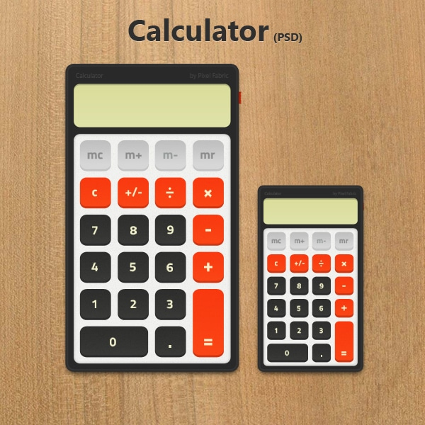 Free-Calculator-Widget