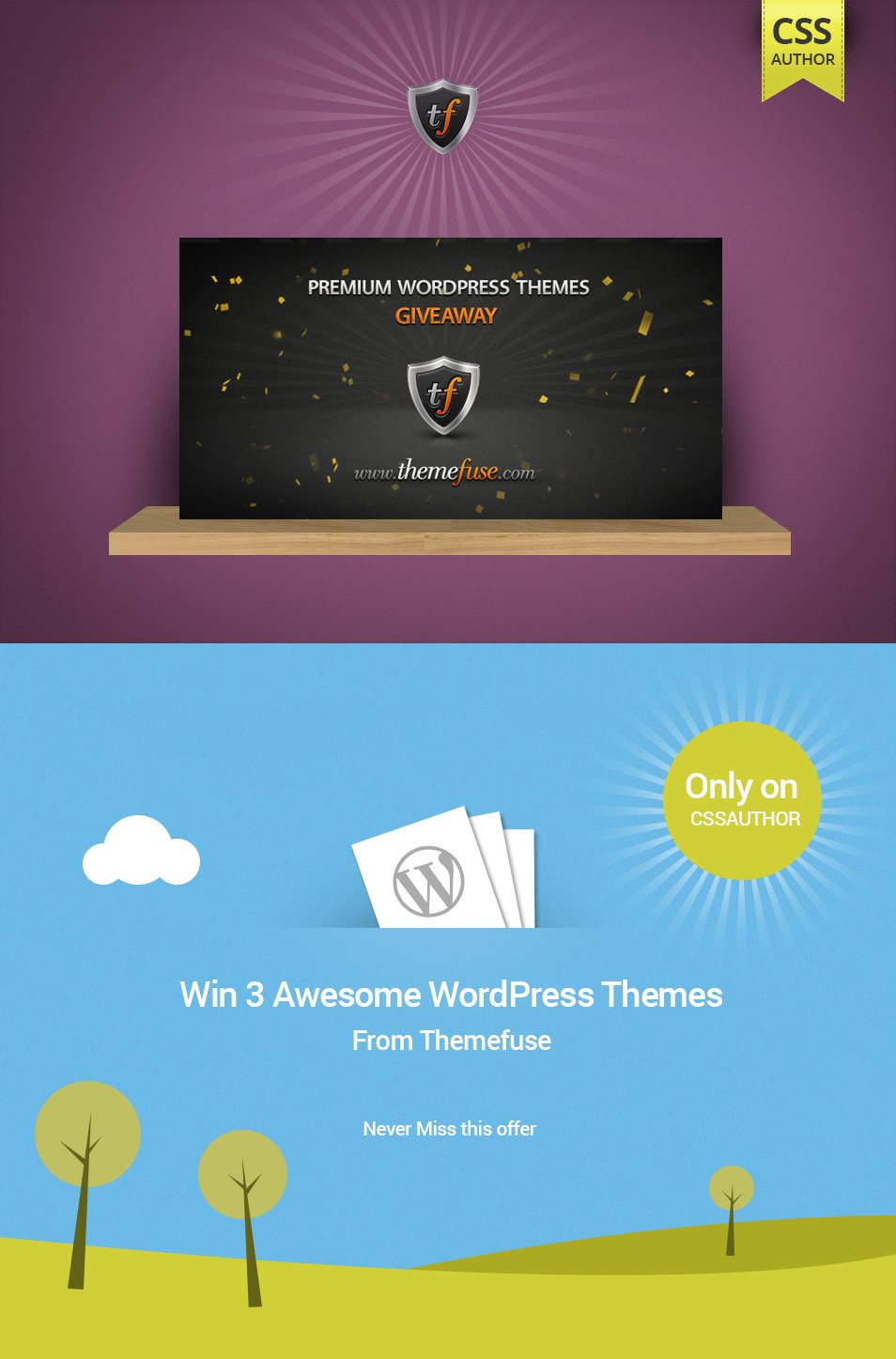 Giveaway of Three ThemeFuse Themes
