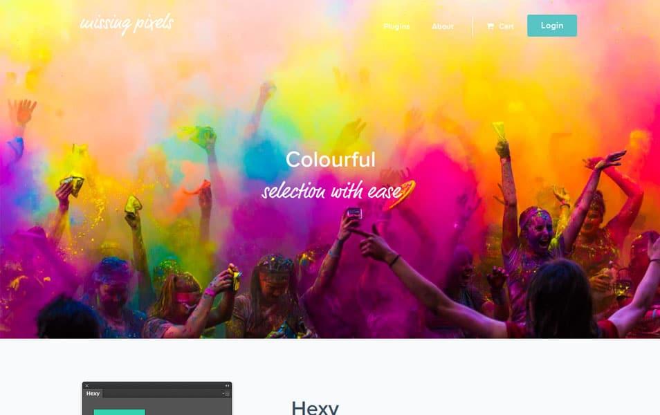 Hexy Photoshop Plugin