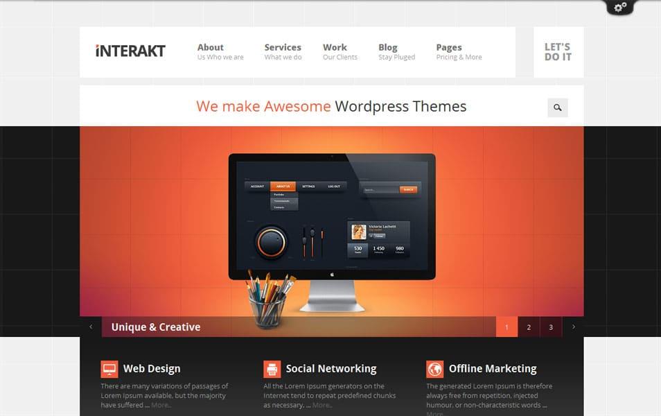 Interakt - Agency WordPress Theme