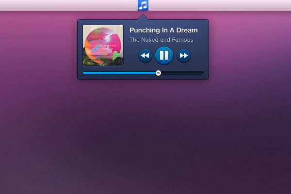 Music-Widget