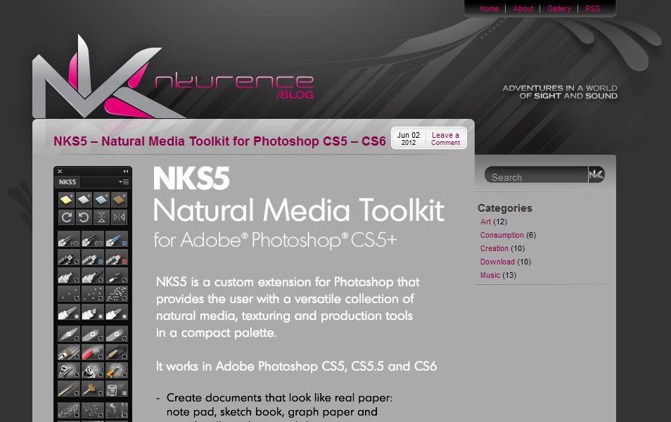 NKS5 – Natural Media Toolkit