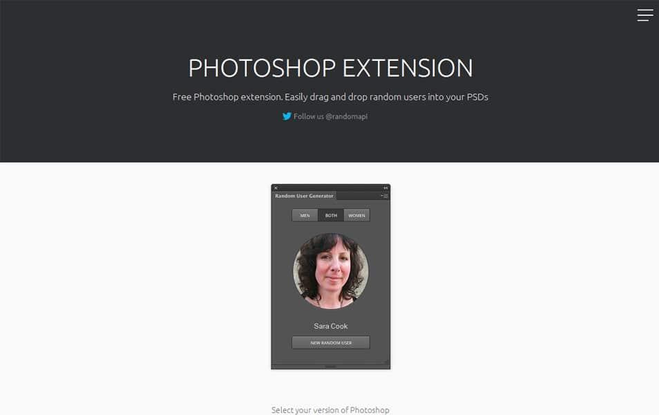 Photoshop Extension
