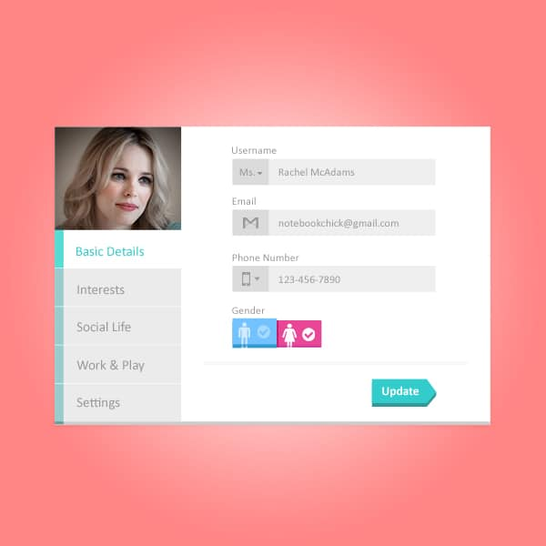 Profile-Widget