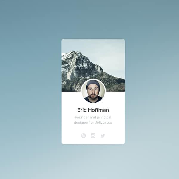 Profile-widget