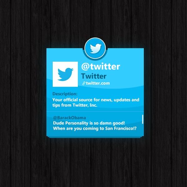 Twitter-Widget-PSD
