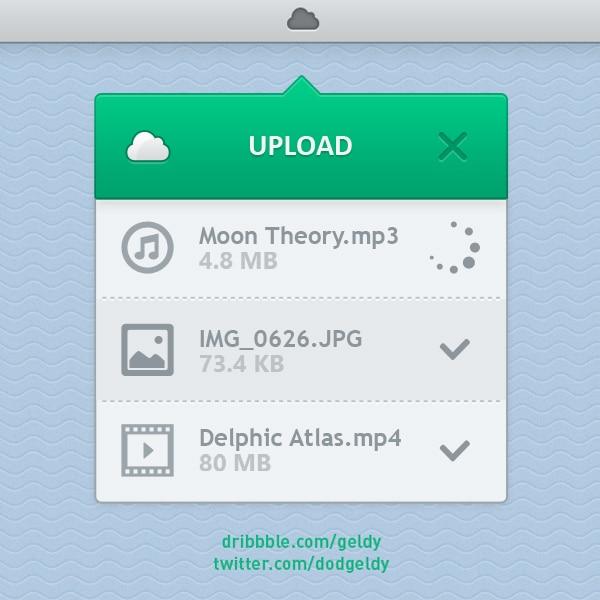 Upload-Widget