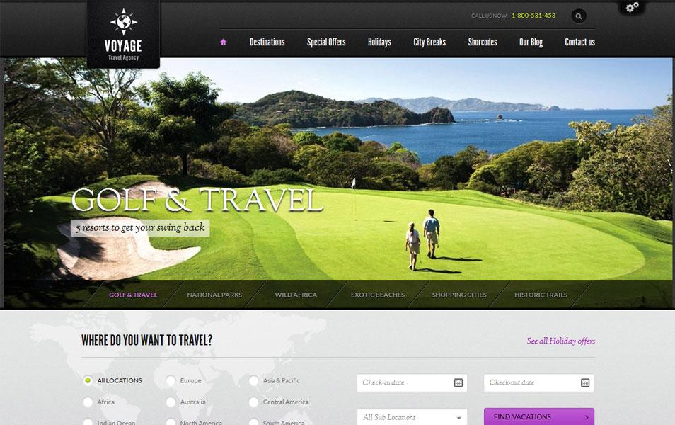 Voyage - Travel WordPress Theme