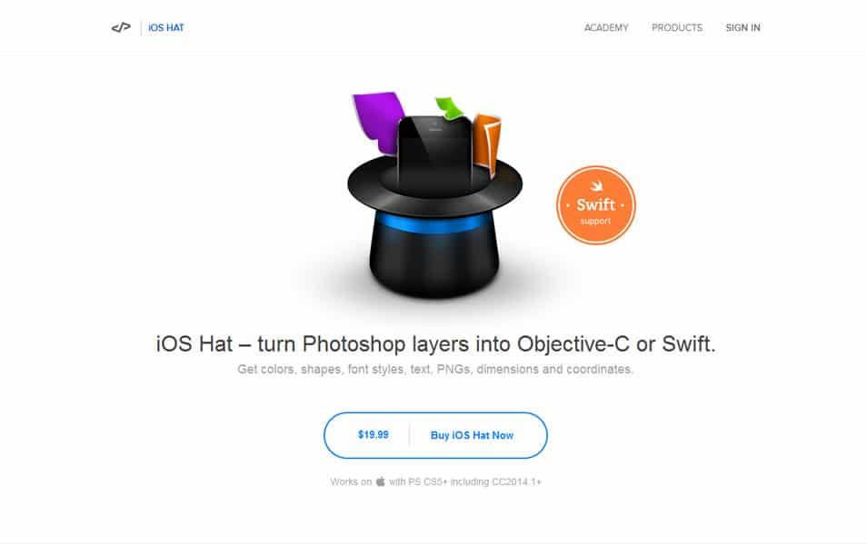 iOS Hat