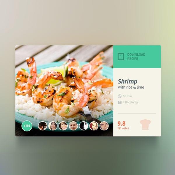 seafood-widget