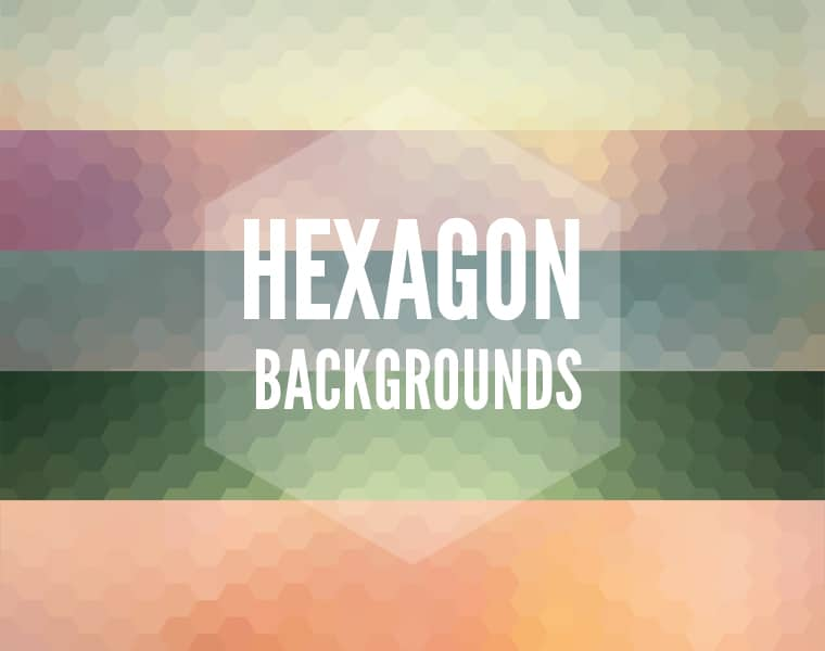 10 Hexagon Background Pack