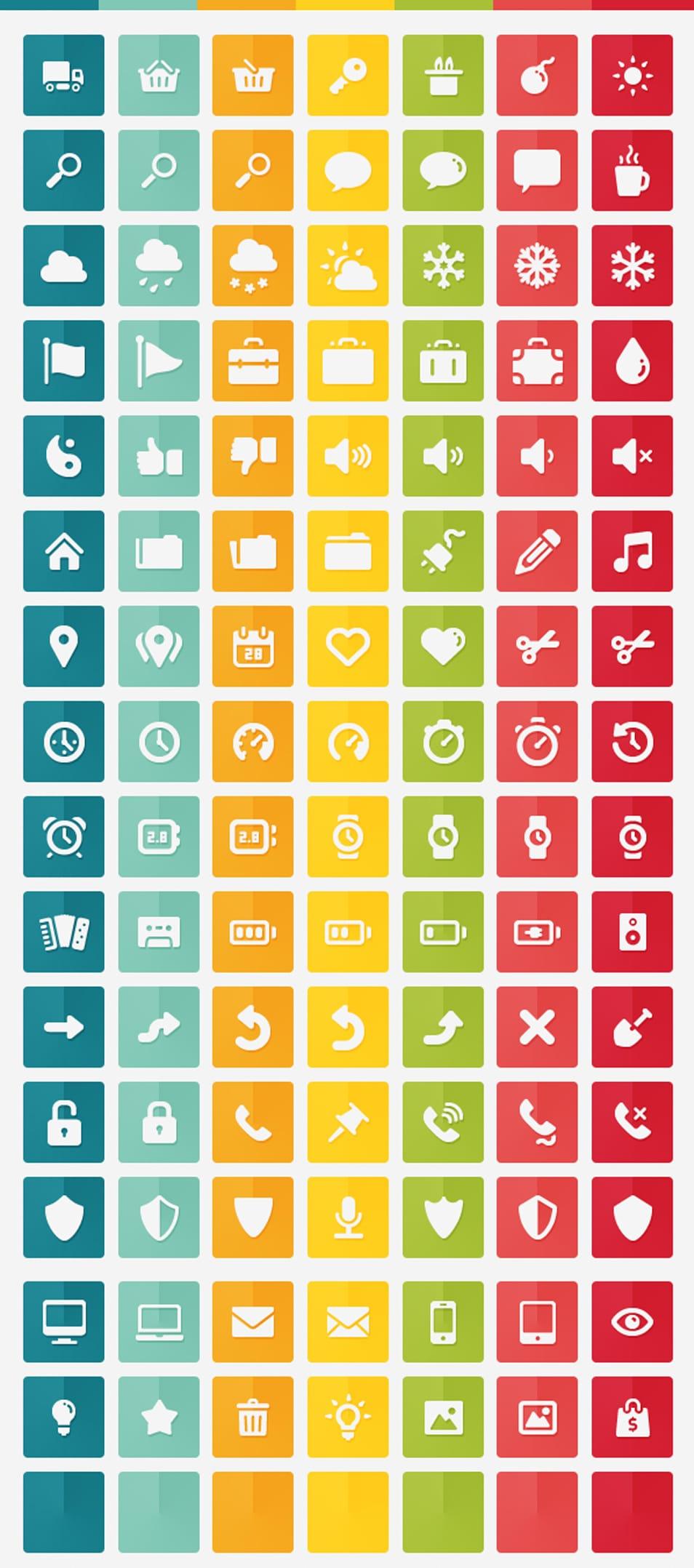 105 free flat icons – Gmarellile